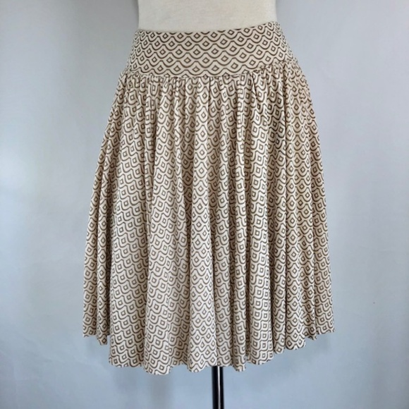 Clothing, Shoes & Accessories Fossil Skirt Silk Blend Size 0